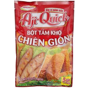 Bột tẩm khô chiên giòn Aji-Quick gói 210g