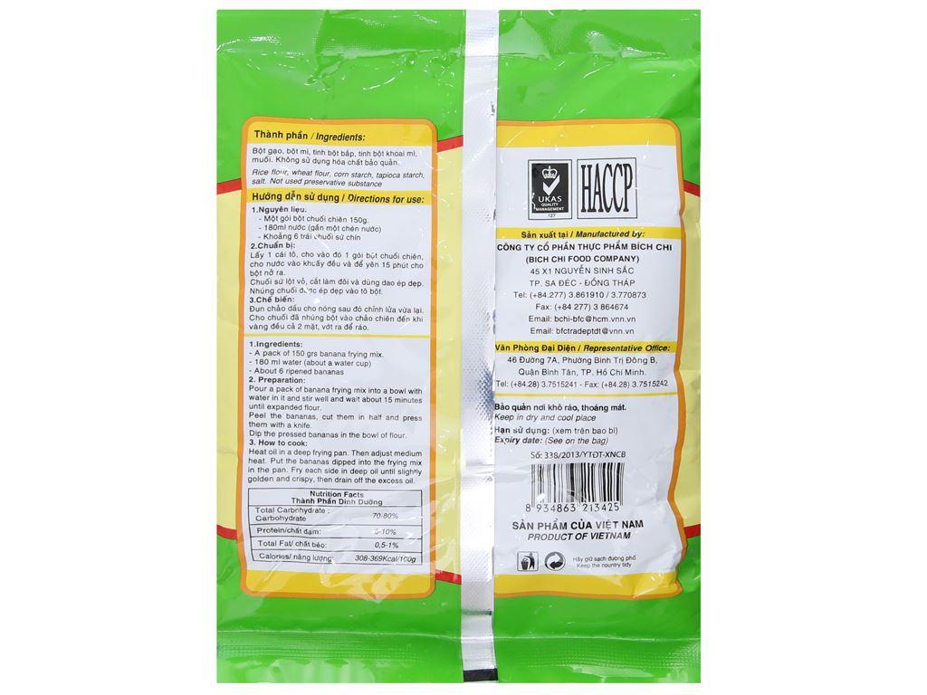 Bột chuối chiên Bích Chi gói 150g 3