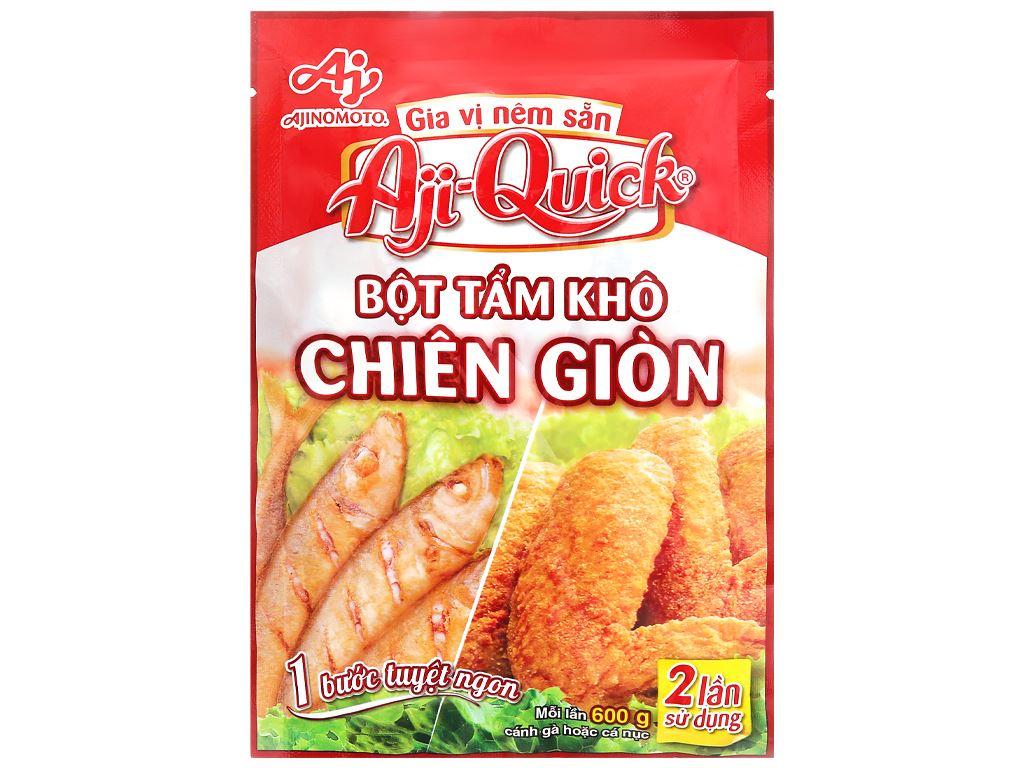 Bột tẩm khô chiên giòn Aji-Quick gói 84g 1