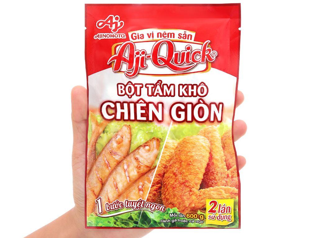 Bột tẩm khô chiên giòn Aji-Quick gói 84g 4