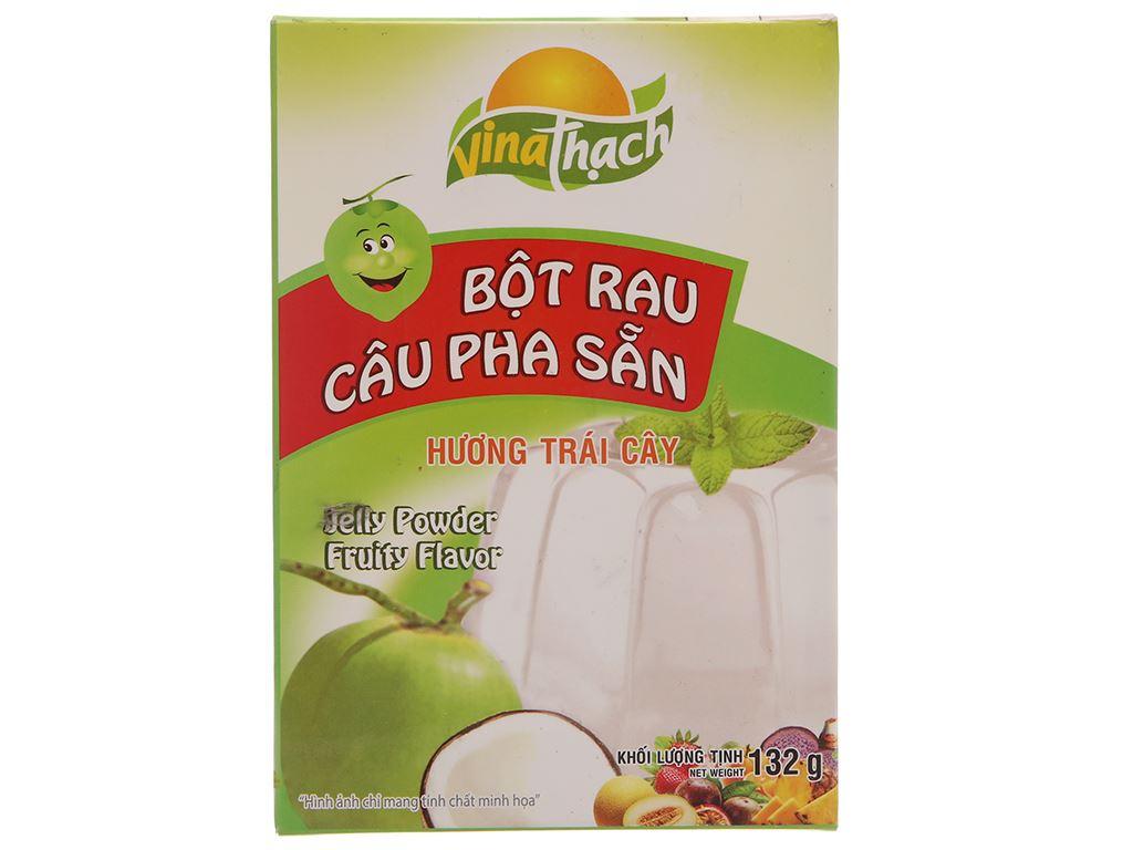 Bột rau câu pha sẵn hương dừa VinaThạch hộp 132g 2