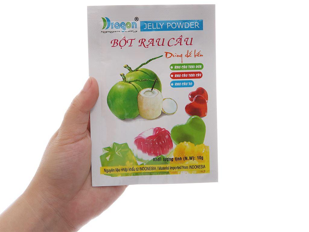 Bột rau câu Dragon hương dừa gói 10g 5