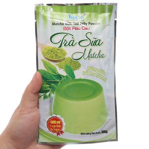 Bột rau câu trà sữa matcha Dragon gói 106g