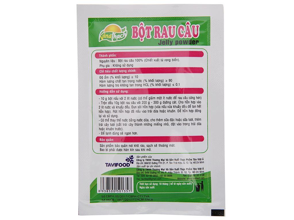 Bột rau câu giòn VinaThạch gói 10g 3