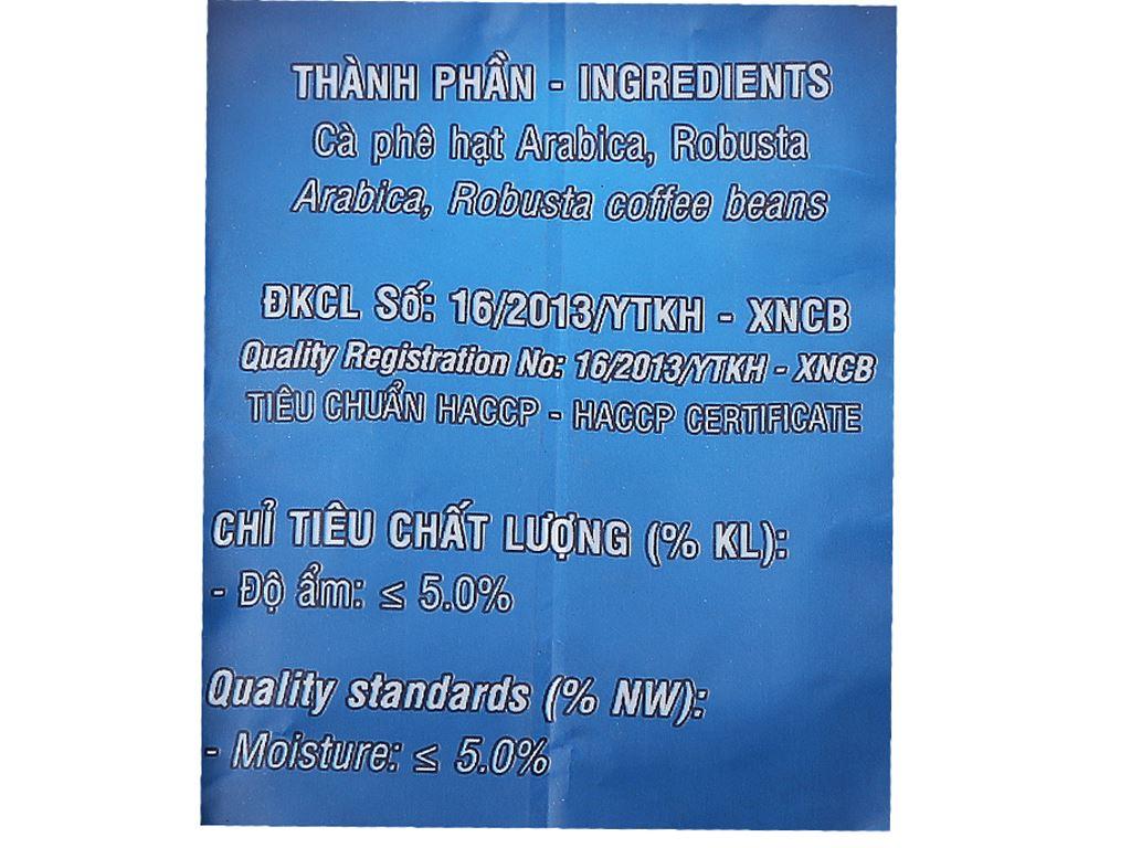 Cà phê Mê Trang Ocean Blue gói 250g 3