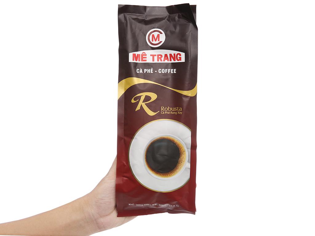 Cà phê Mê Trang Robusta gói 500g 4
