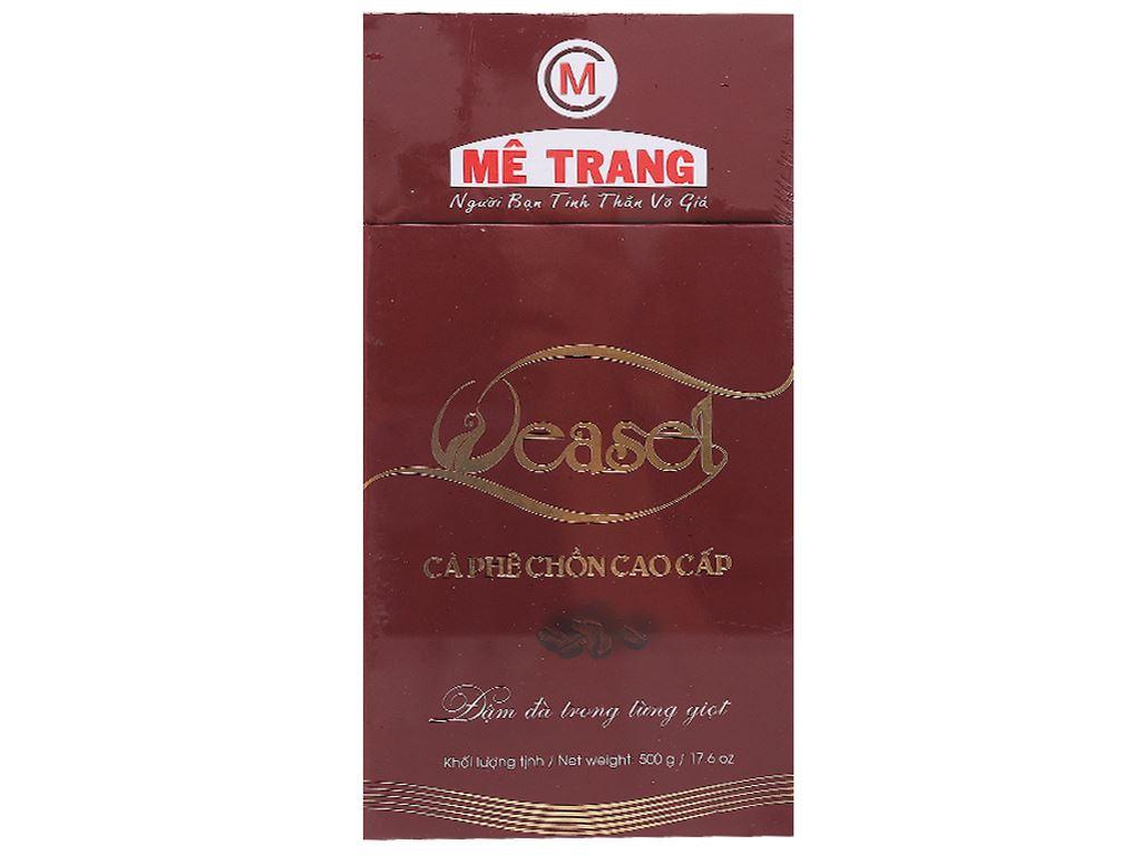 Cà phê Mê Trang Chồn gói 500g 1