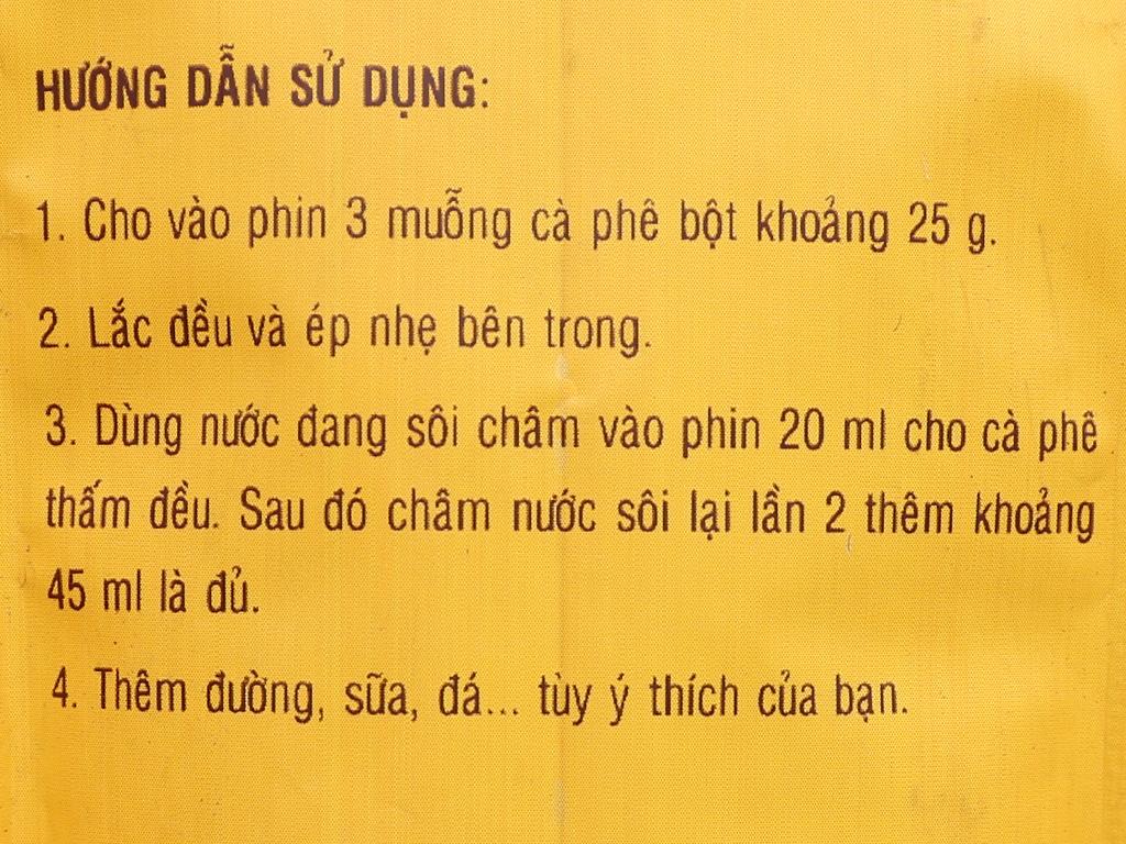 Cà phê rang xay Mê Trang chồn 500g 9