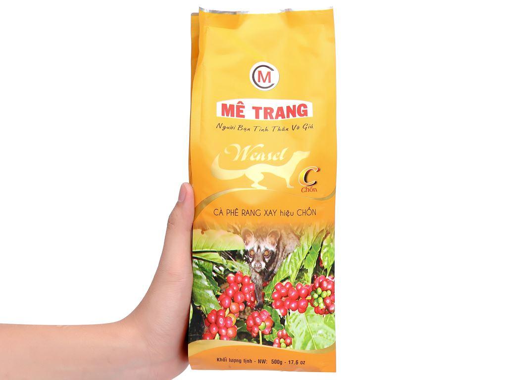 Cà phê rang xay Mê Trang chồn 500g 12