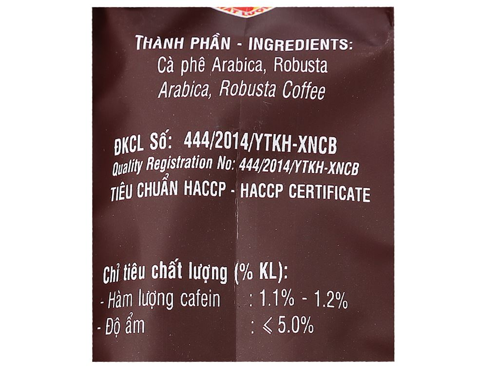 Cà phê Mê Trang Sạch Pha Phin số 2 500g 3
