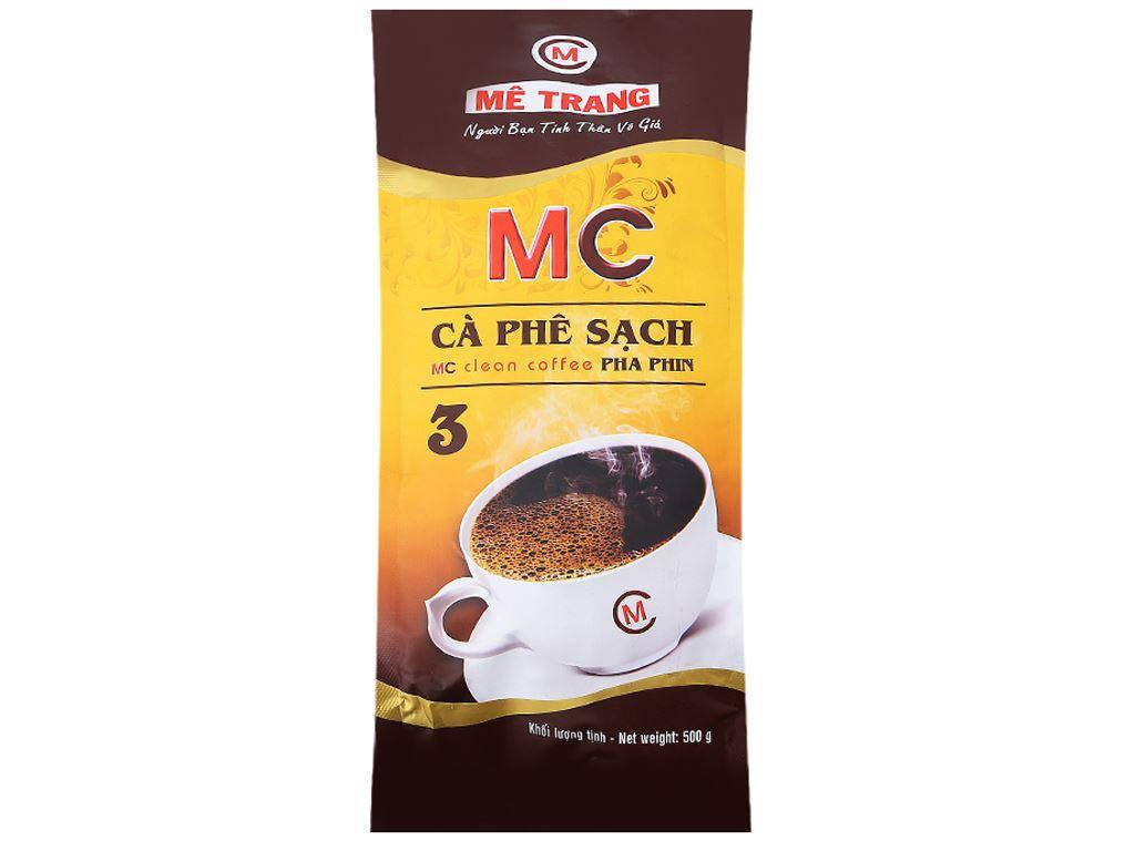 Cà phê Mê Trang Sạch Pha Phin số 3 gói 500g 1
