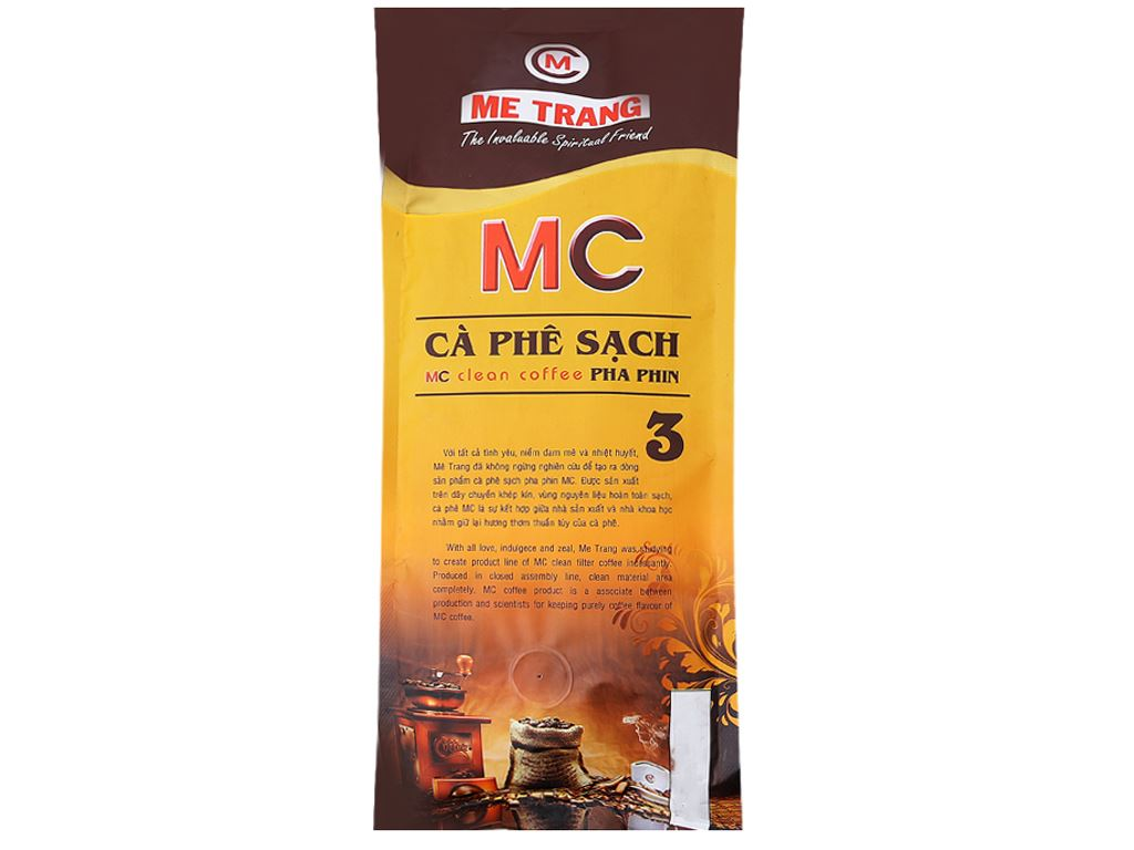 Cà phê Mê Trang Sạch Pha Phin số 3 gói 500g 2