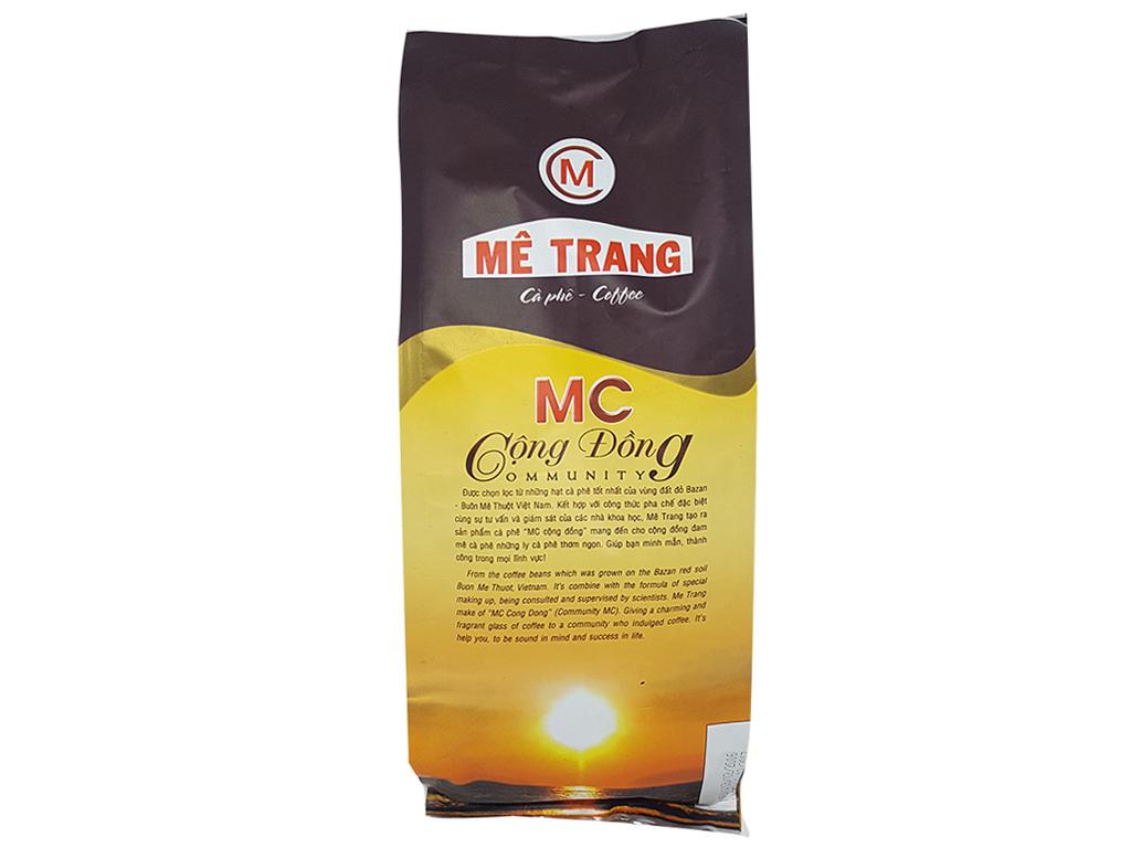 Cà phê Mê Trang MC Cộng Đồng gói 500g 3