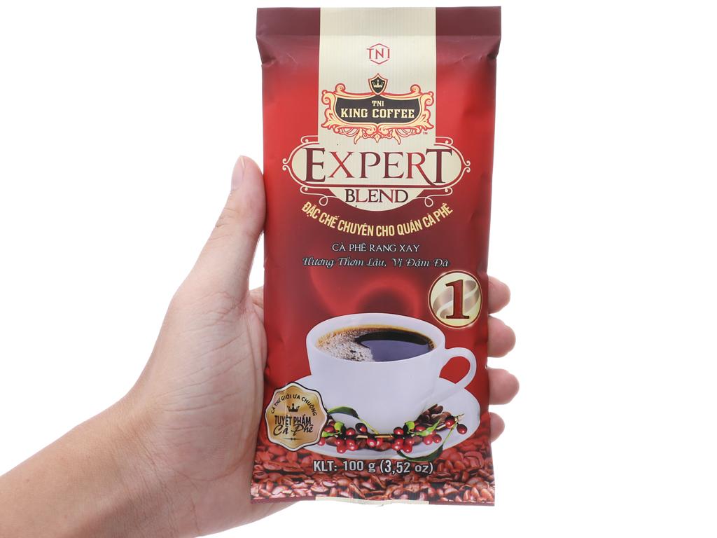 Cà phê TNI King Coffee Expert Blend 1 gói 100g 6