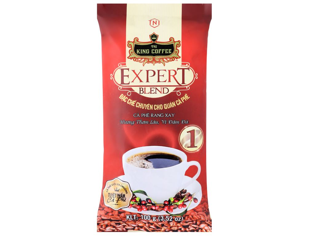 Cà phê TNI King Coffee Expert Blend 1 100g 6