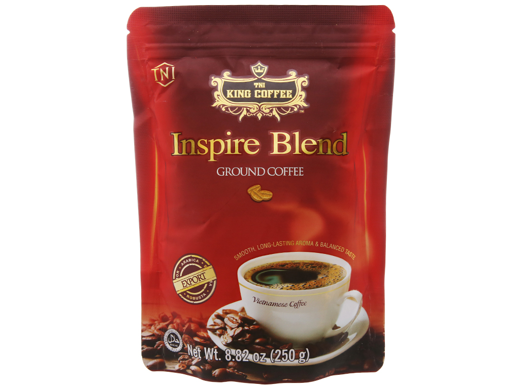 Cà phê TNI King Coffee Inspire Blend gói 250g 1