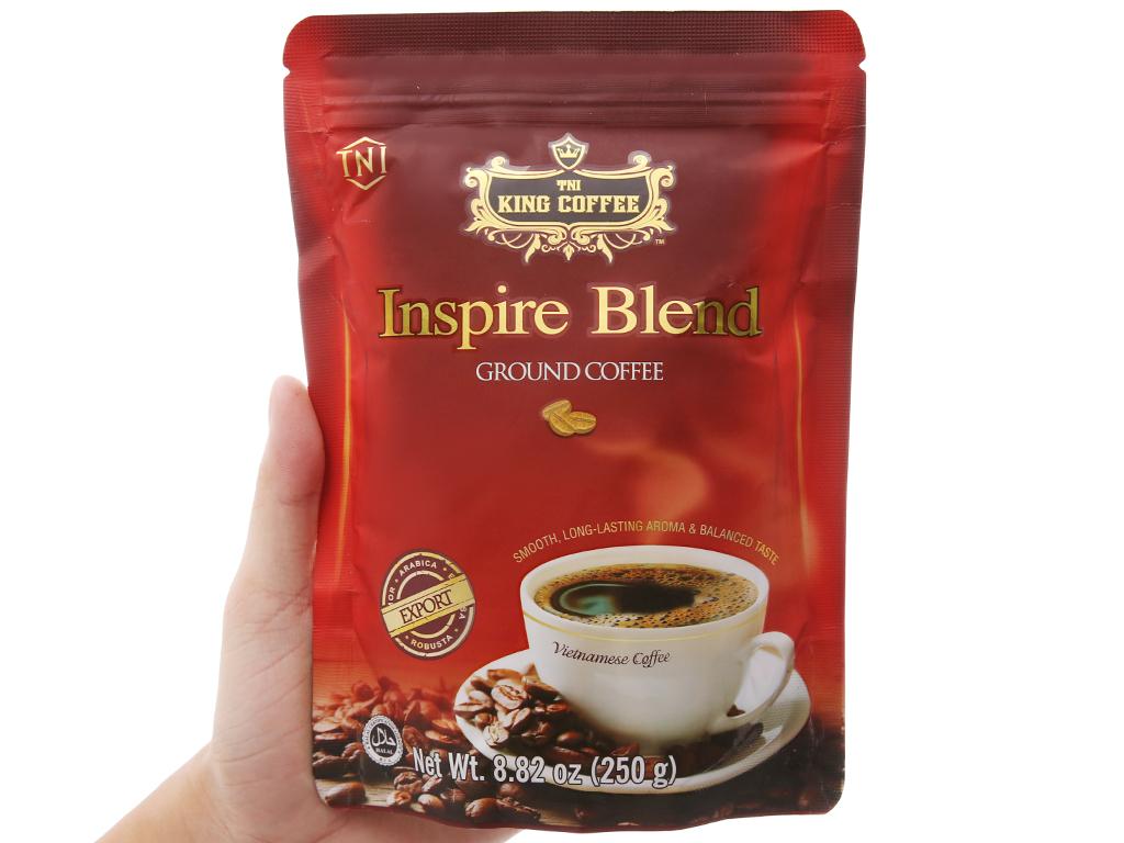 Cà phê TNI King Coffee Inspire Blend gói 250g 5