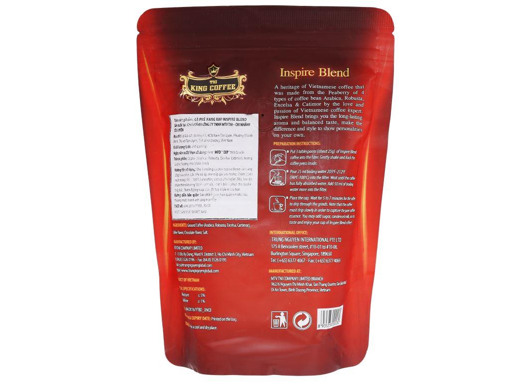 Cà phê TNI King Coffee Inspire Blend 250g 6
