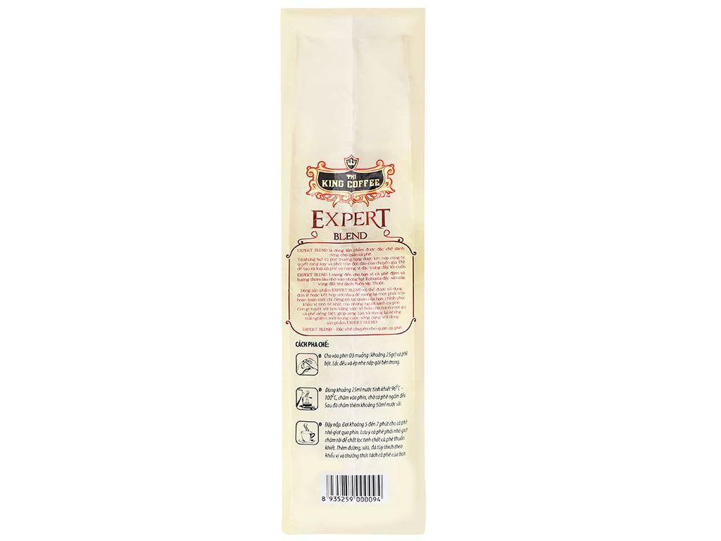 Cà phê TNI King Coffee Expert Blend 1 500g 9