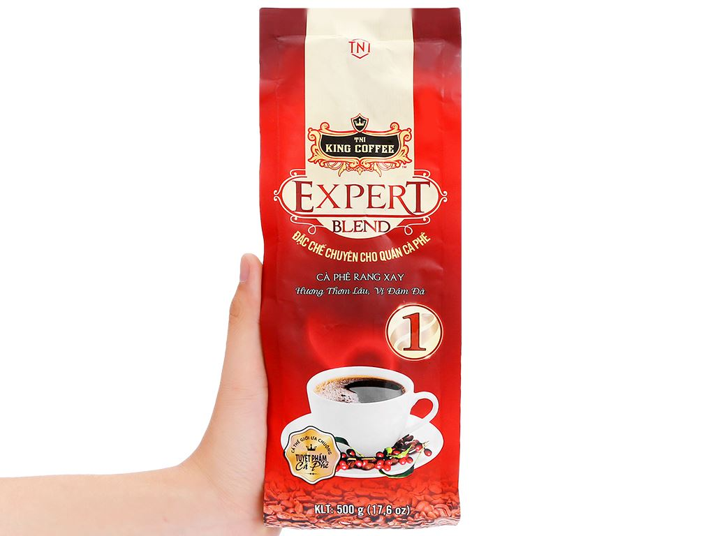 Cà phê TNI King Coffee Expert Blend 1 500g 11