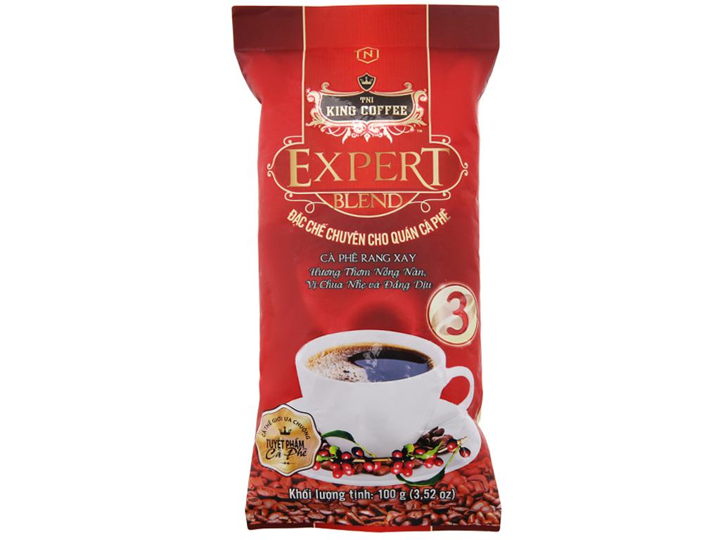 Cà phê TNI King Coffee Expert Blend 3 gói 100g 1