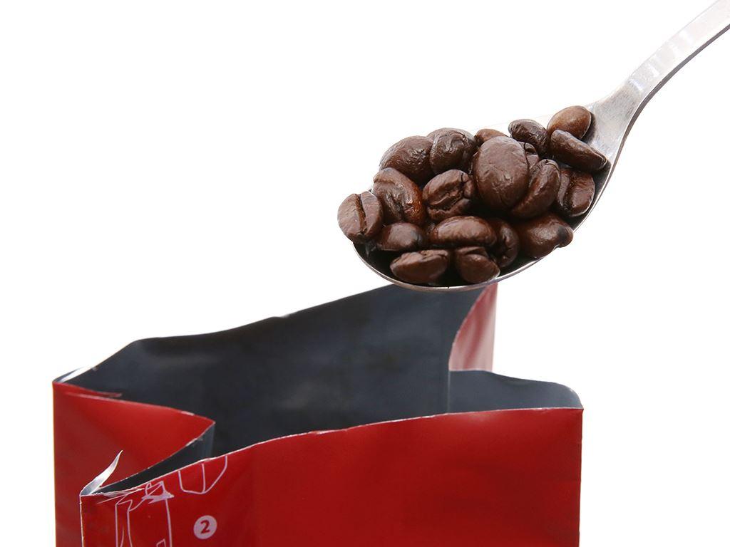 Cà phê nguyên hạt TNI King Coffee Arabica Brazil gói 340g 4