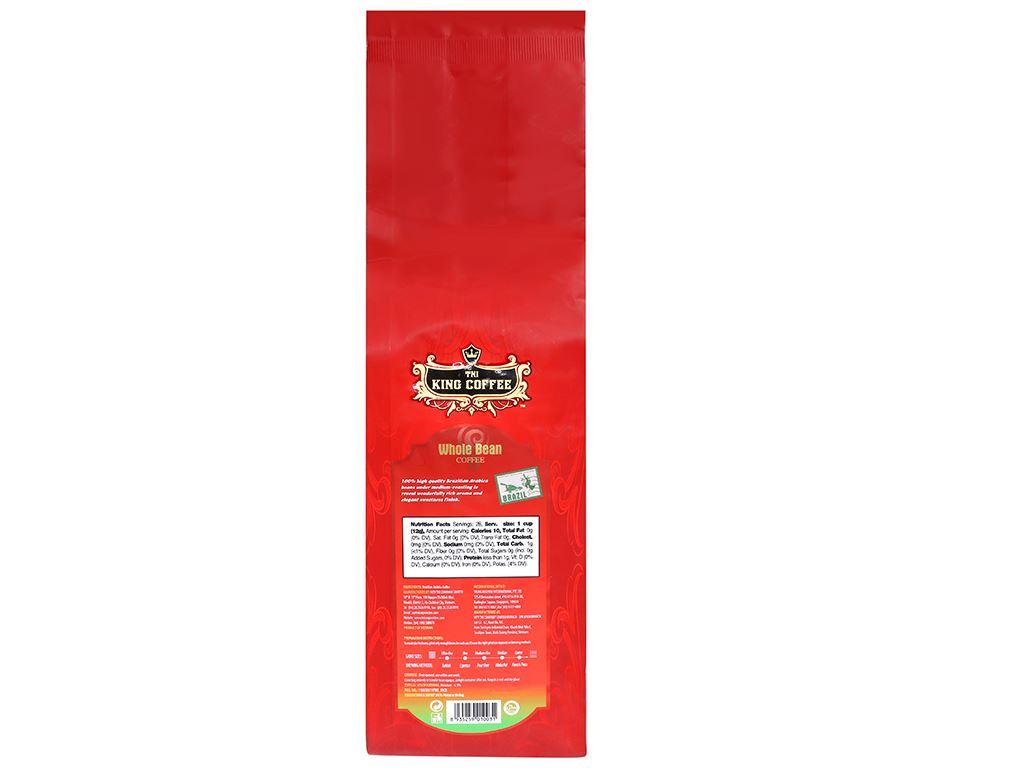 Cà phê nguyên hạt TNI King Coffee Arabica Brazil 340g 6