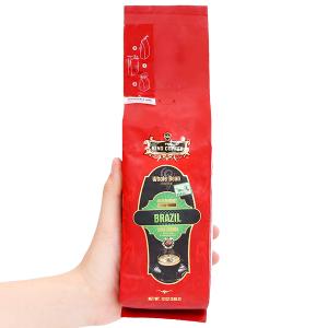 Cà phê nguyên hạt TNI King Coffee Arabica Brazil 340g
