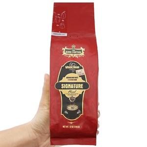 Cà phê nguyên hạt King Coffee Signature Blend gói 340g
