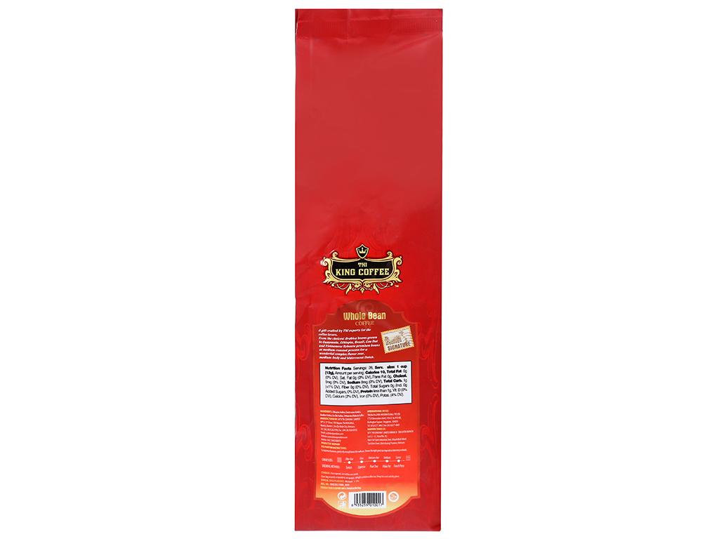 Cà phê nguyên hạt TNI King Coffee Signature Blend 340g 8