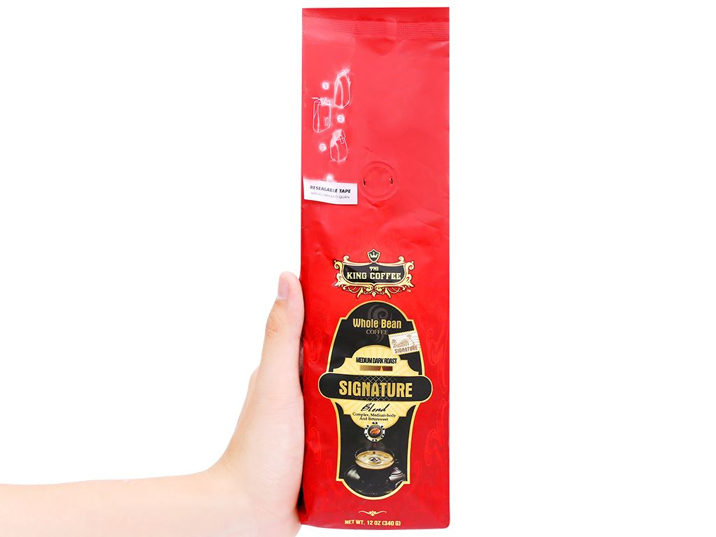 Cà phê nguyên hạt TNI King Coffee Signature Blend 340g 13