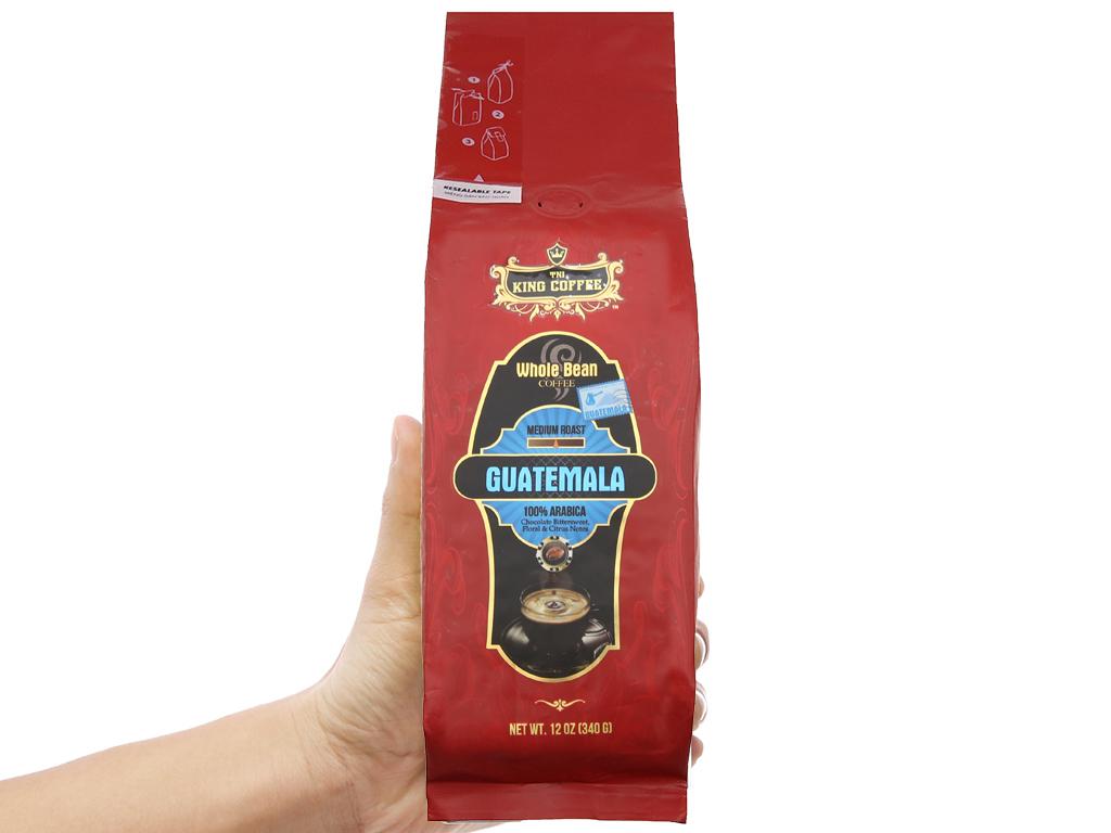 Cà phê nguyên hạt TNI King Coffee Arabica Guatemala gói 340g 4