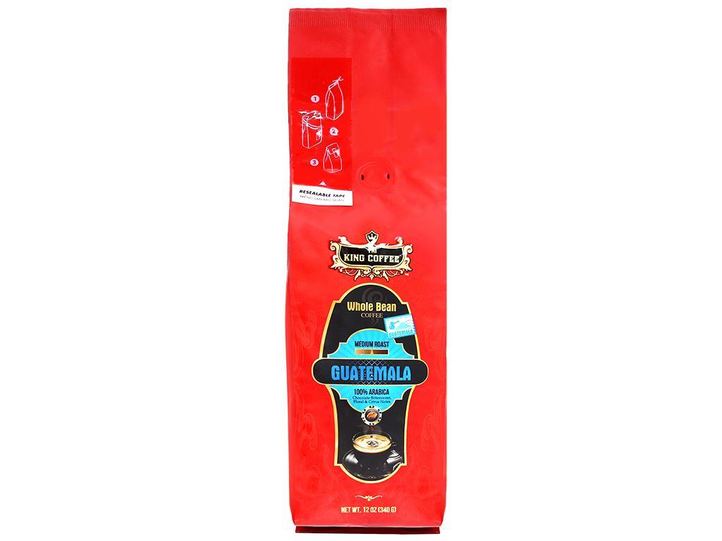Cà phê nguyên hạt TNI King Coffee Arabica Guatemala 340g 4