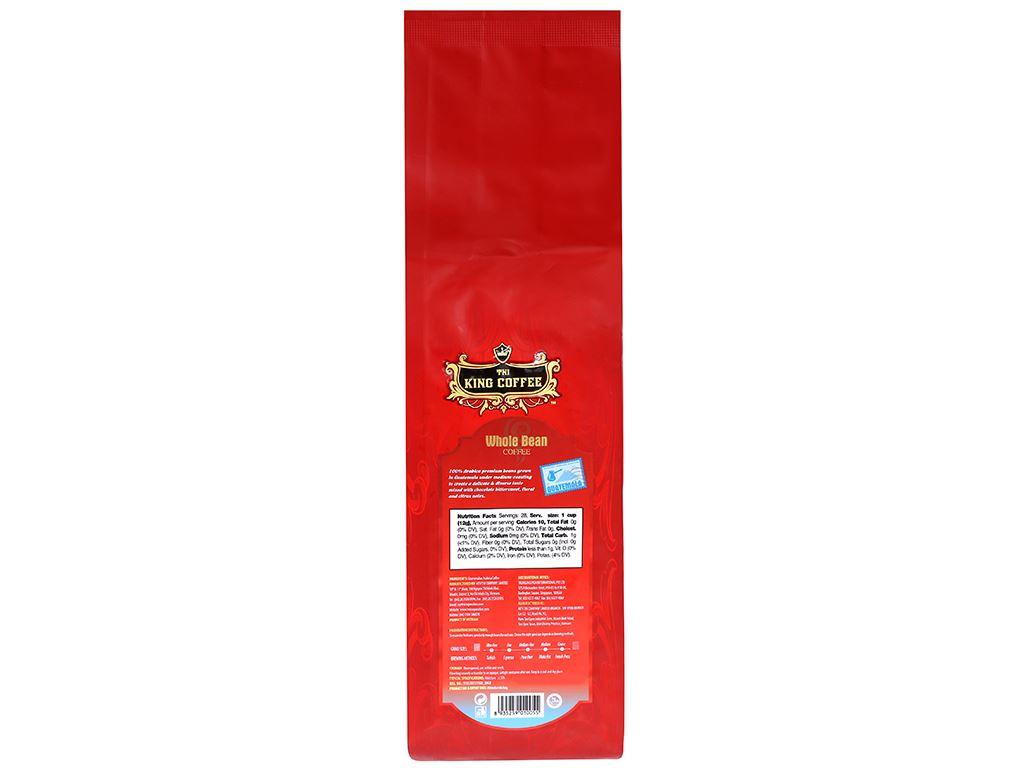Cà phê nguyên hạt TNI King Coffee Arabica Guatemala 340g 5
