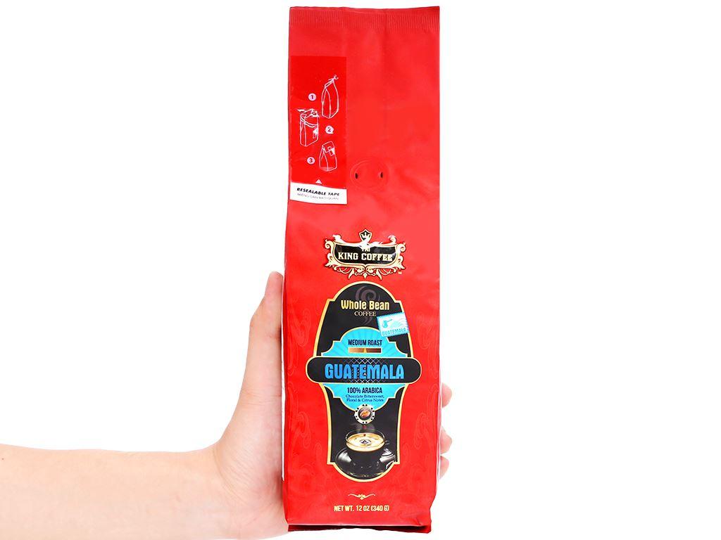 Cà phê nguyên hạt TNI King Coffee Arabica Guatemala 340g 9
