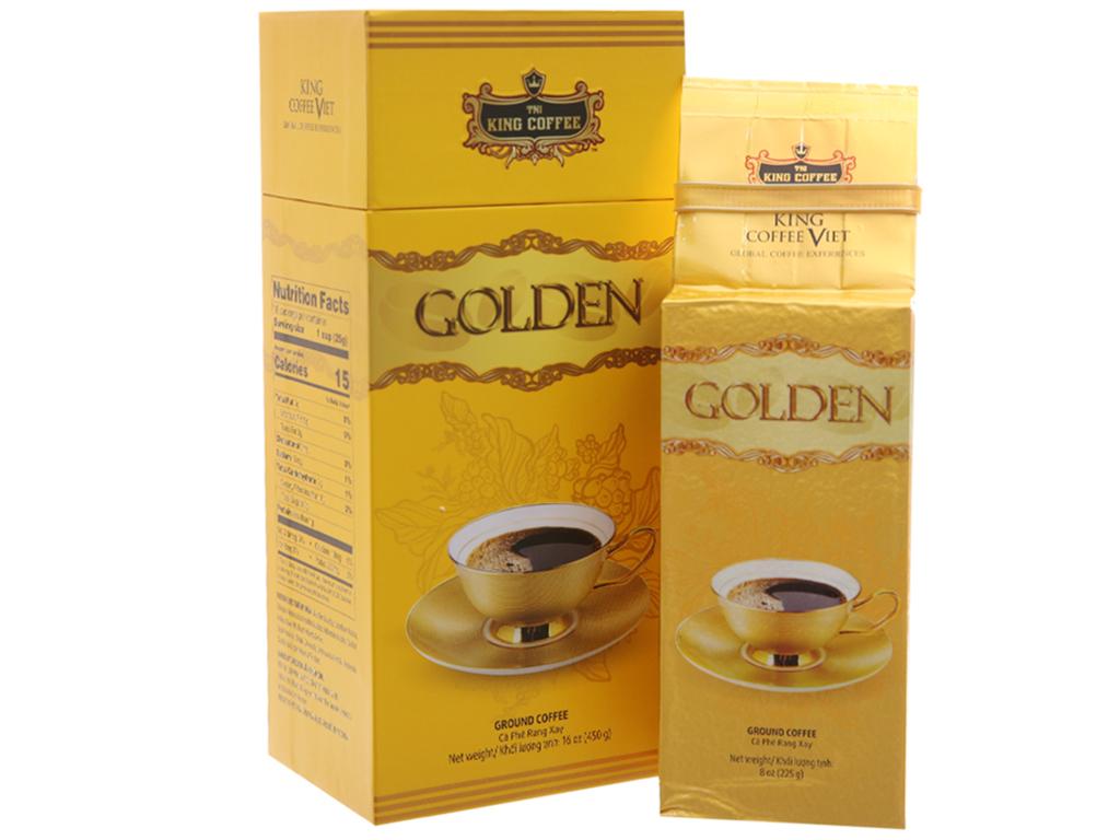 Cà phê TNI King Coffee Golden hộp 450g 2