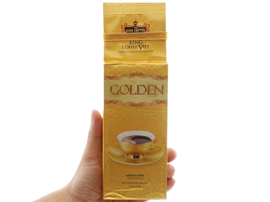 Cà phê TNI King Coffee Golden hộp 450g 5