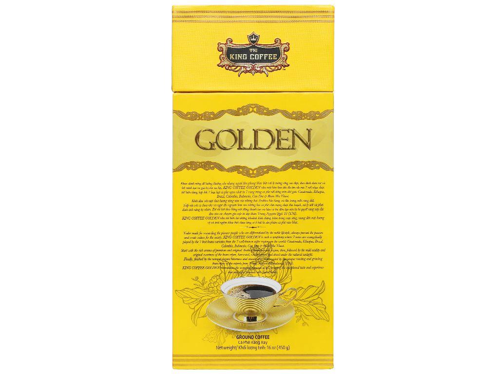 Cà phê TNI King Coffee Golden 450g 8