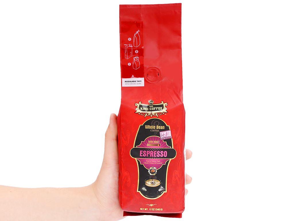 Cà phê nguyên hạt TNI King Coffee Espresso 340g 11