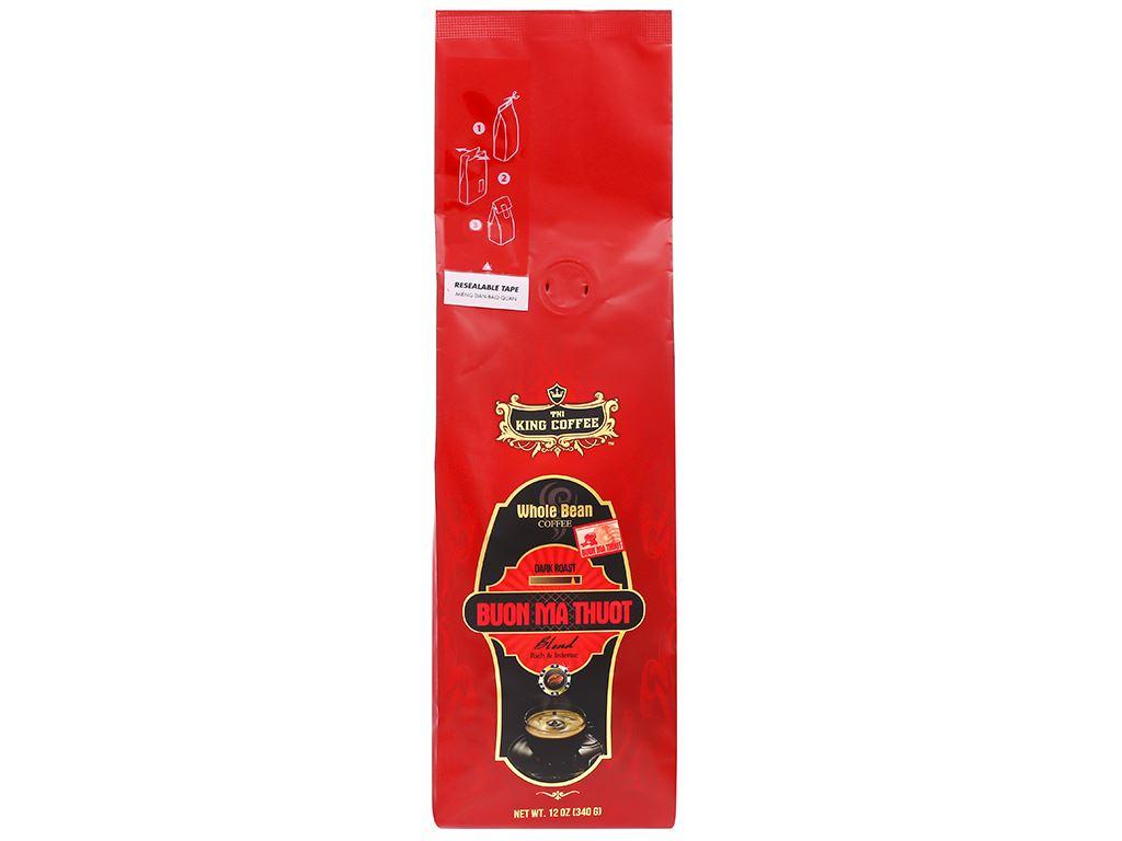 Cà phê nguyên hạt TNI King Coffee Buôn Ma Thuột 340g 1