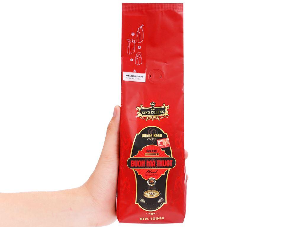 Cà phê nguyên hạt TNI King Coffee Buôn Ma Thuột 340g 6