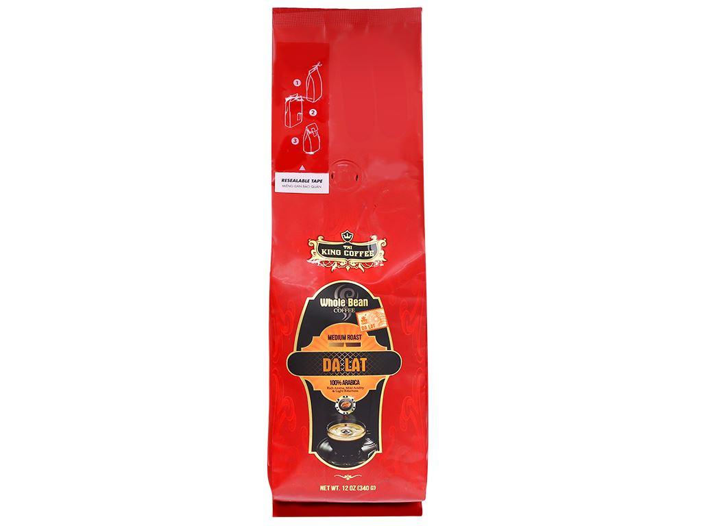 Cà phê nguyên hạt TNI King Coffee Đà Lạt 340g 6
