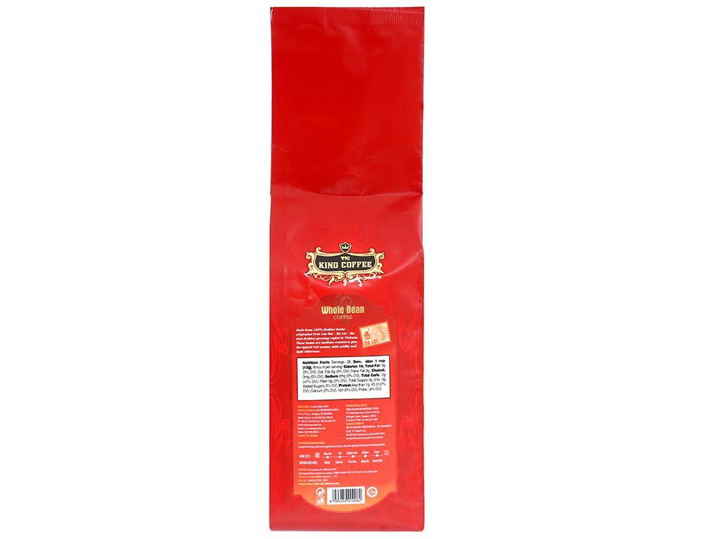 Cà phê nguyên hạt TNI King Coffee Đà Lạt 340g 7