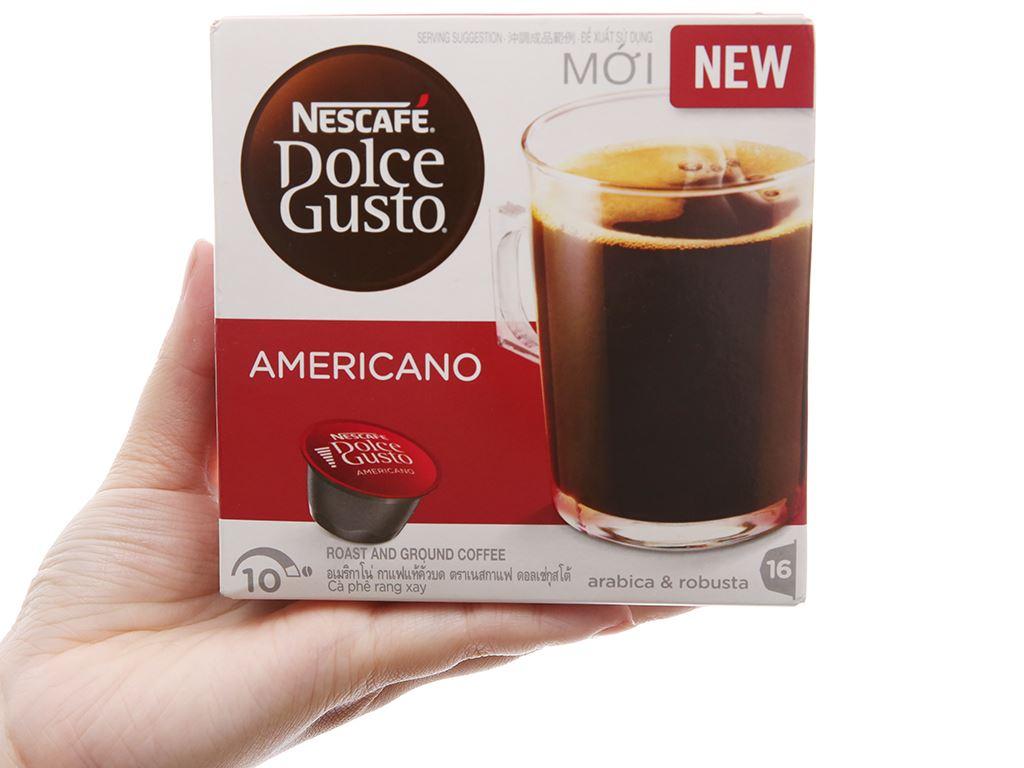 Cà phê viên nén NesCafé Dolce Gusto Americano 128g 2