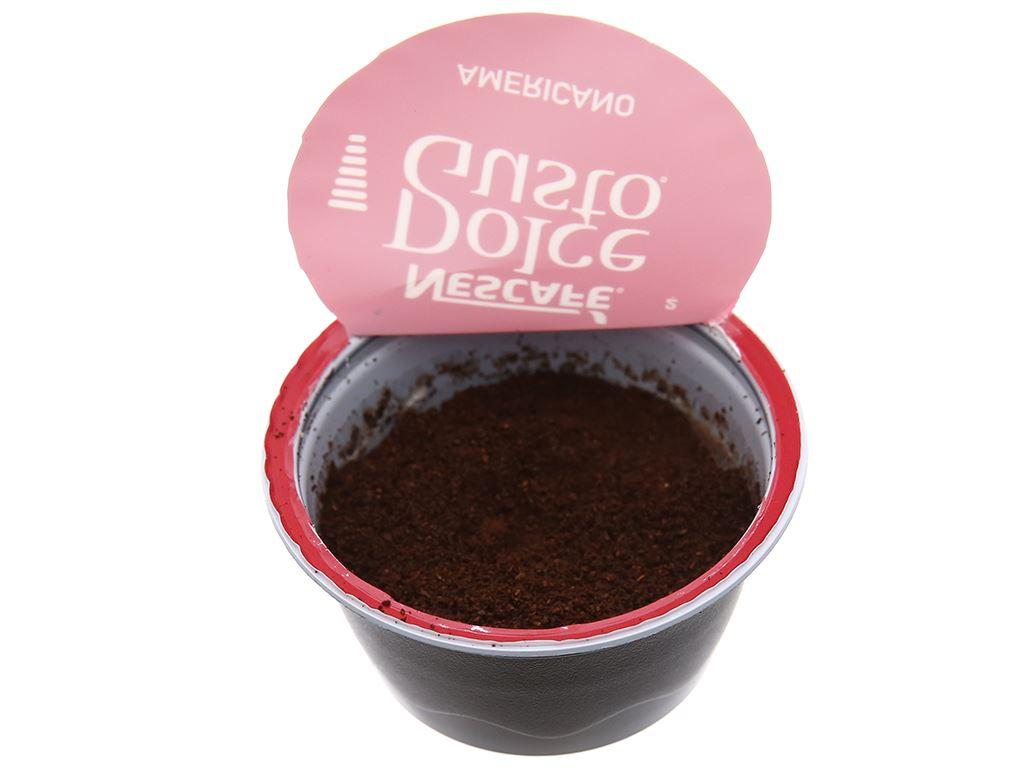 Cà phê viên nén NesCafé Dolce Gusto Americano 128g 5