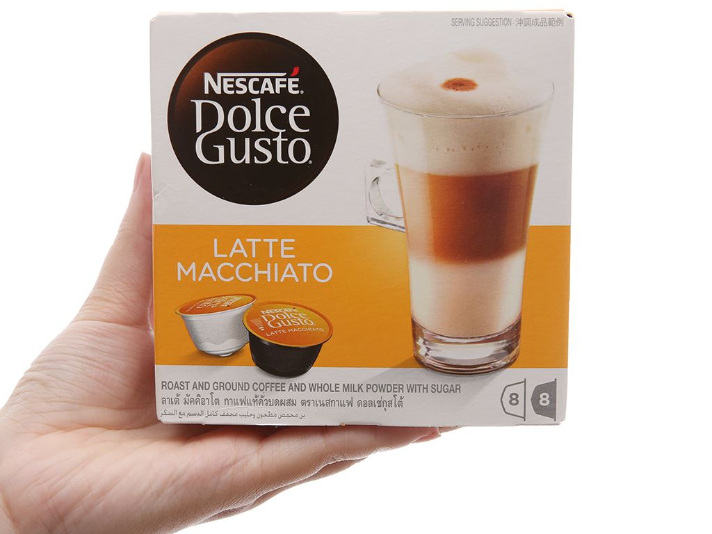 Cà phê viên nén NesCafé Dolce Gusto Latte Macchiato 194.4g 2