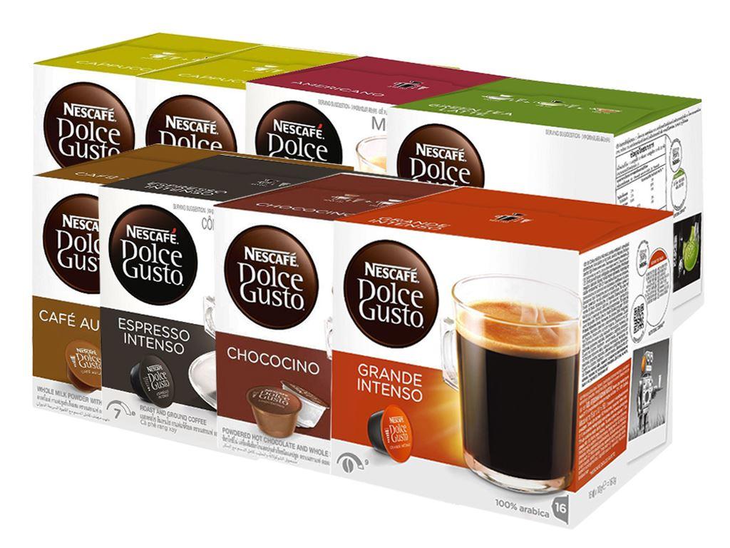 Combo 8 hộp cà phê viên nén Nescafé Dolce Gusto 1