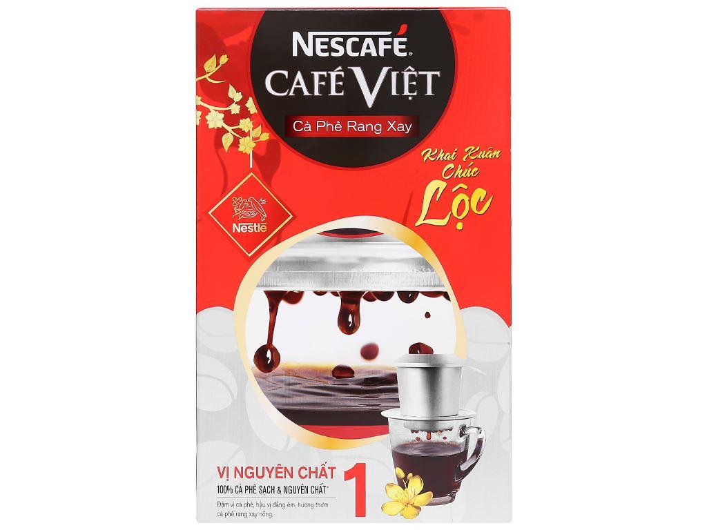 Cà phê nguyên hạt NesCafé Café Việt vị nguyên chất 1 250g 8