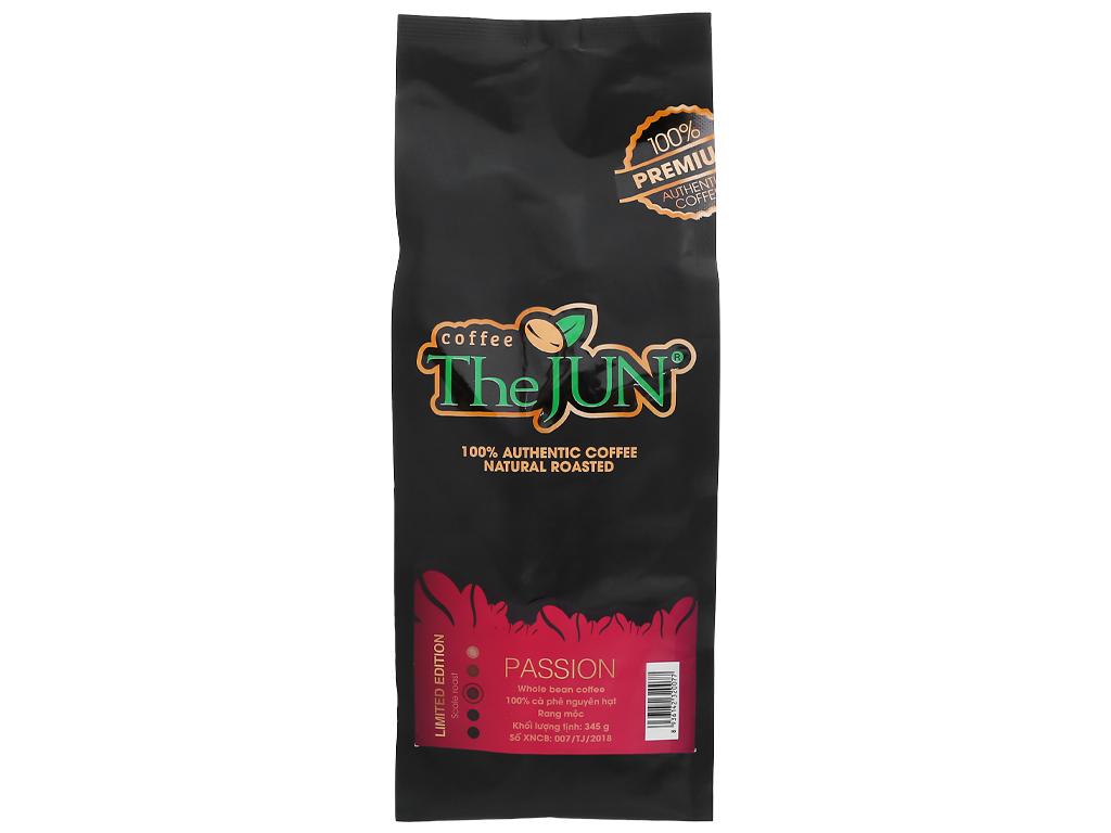 Cà phê nguyên hạt rang mộc The JUN Passion 345g 6