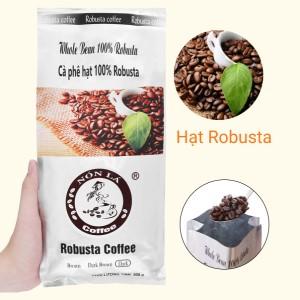 Cà phê nguyên hạt Nón Lá Robusta Dark 500g